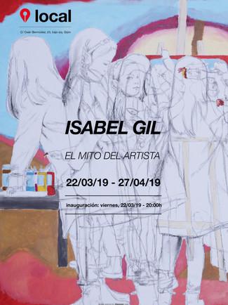 Isabel Gil. El mito del artista 22/03/2019 20:00h