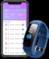 3rd Gen Smartband - Contact Tracing App