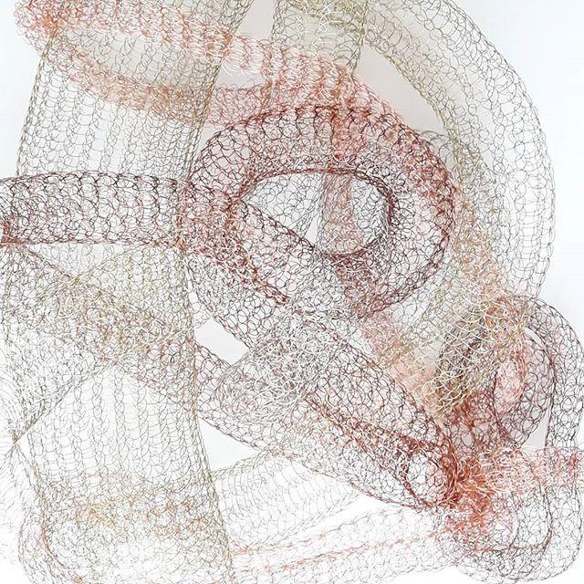 Las amo, mis hijitas _#textil #knitting