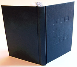 Full Cloth Binding with Blind De-Bossing
