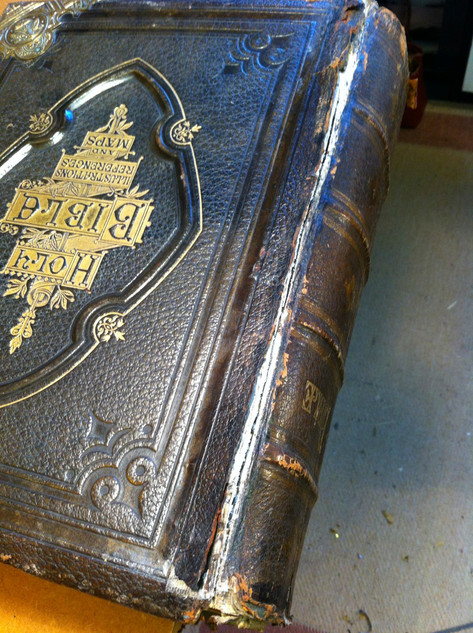 How NOT to Repair a Victorian Family Bible