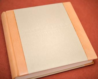 Wedding Photo Album - Half Leather Binding