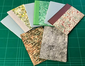 Paper Covered Softcover & Quarter Cloth Hardcover Single-Section Notebooks