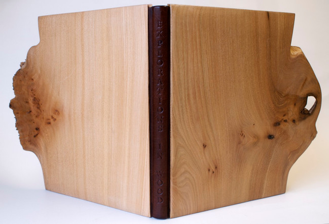 Oak Wooden Boards Binding