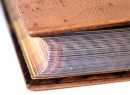 Binding with Lacquered Laminated Wooden Covers - Detail 2