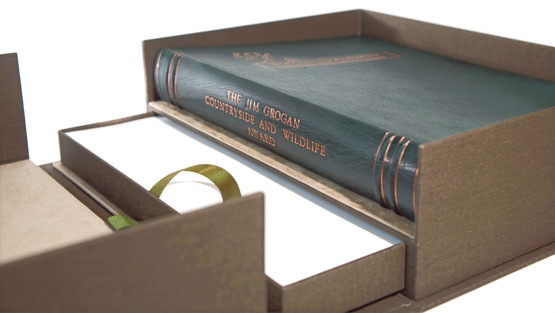 Full Leather Binding with Luxury Container