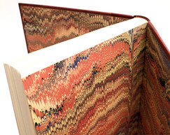 Peals - Traditional Handmade Marbled Endpapers
