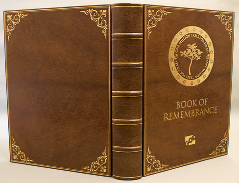 Book of Remembrance - Full Leather Binding