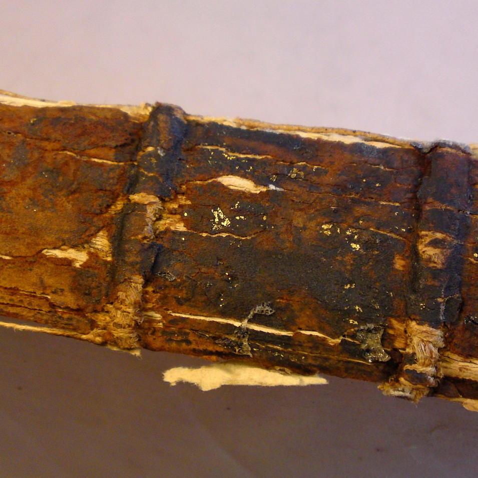 How NOT to Rebind an Old Book Into a New Binding