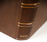 Period Style Full Leather Binding