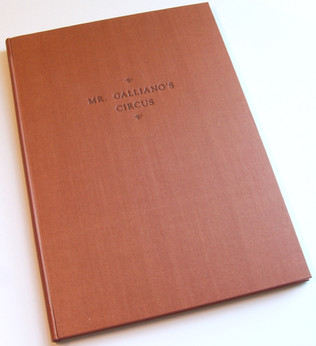 Full Cloth Binding with Black Lettering