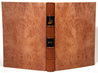 Binding with Lacquered Laminated Wooden Covers