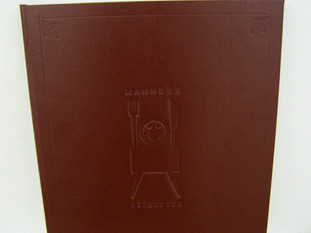 Full Faux Leather Binding with Blind De-Bossed Image