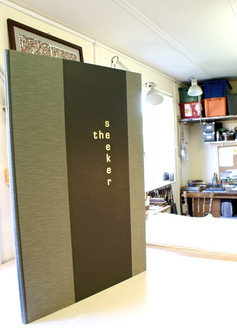 The Seeker - 1 x 1.5m Half Cloth Book