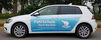 Golf8 Fahrschule Dyrk Naußed