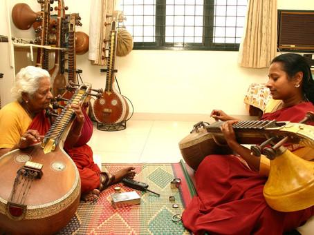 My Guru Smt. Kalpakam Swaminathan