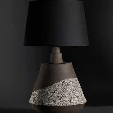 Collection dentelle / La lampe