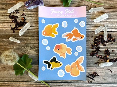 Fancy Fish large sheet