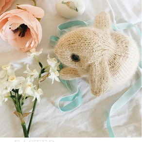 Easter Bunny Knitting Project
