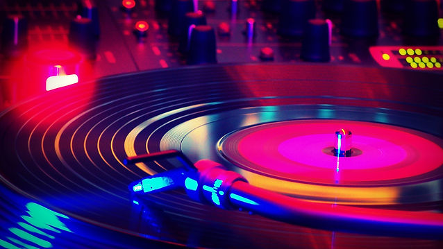 It is image of turntable