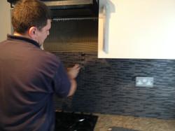 U-BUILDERS kitchen tilling
