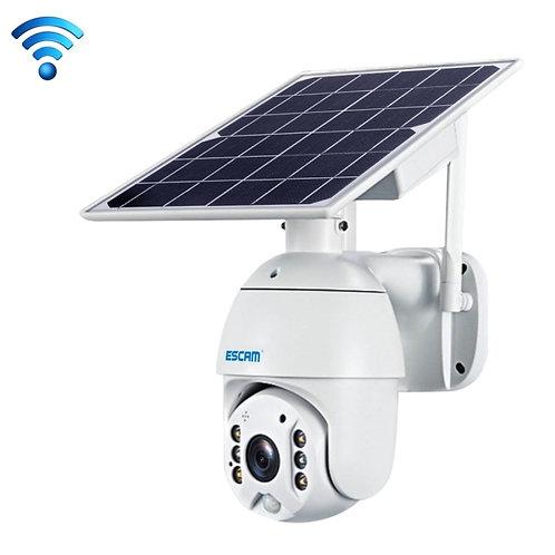 CAMARA SOLAR FHD 1080, Impermeable con WiFi, Batería, Visión Nocturna, Rotatoria