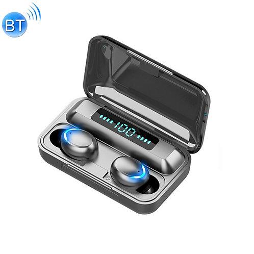 Audifonos Bluetooth inalámbricos con caja de carga y pantalla digital LED