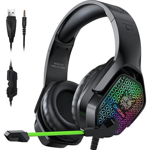 Audífonos Gamer ONIKUMA X3 RGB