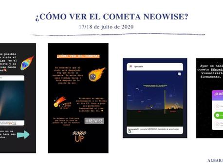 ¿CÓMO VER EL COMETA NEOWISE? (17 de julio de 2020).
