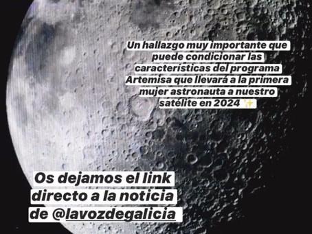 AGUA EN LA LUNA (28 de octubre de 2020).