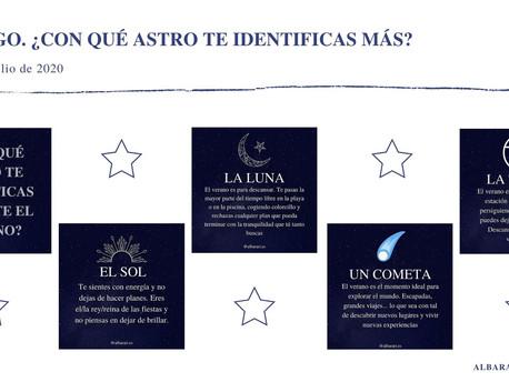 JUEGO ASTRONÓMICO (30 de julio de 2020).
