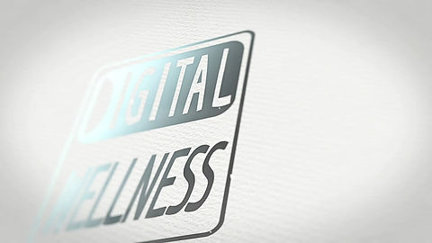 Animation du logo de Digital Wellness