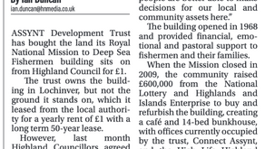Highland Council agree Asset Transfer