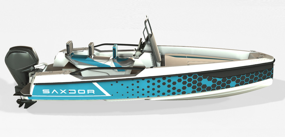 Saxdor Yachts Pro Sport Turquoise