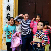Young Posers in Hanoi