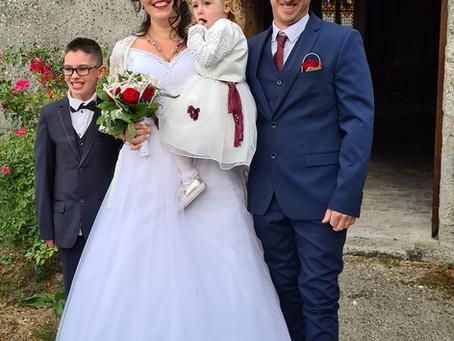 Mot d'accueil à l'église pour le mariage de ma cousine