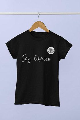 Playera Soy librero (mujer)