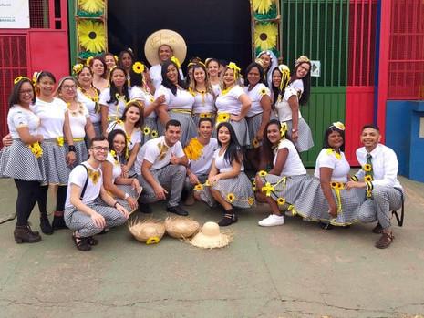 Arraiá Raízes do cerrado CCEI Sagrada Família