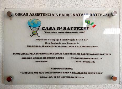 Inauguração do Espaço Casa D'Battezzi