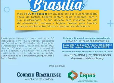 DOAR É SER + BRASÍLIA - CEPAS