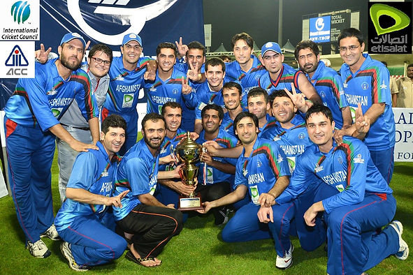 afghanistan-cricket-team-winng-a-trophy