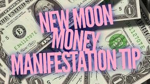 New Moon Money Manifestation Tip