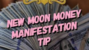 New Moon Money Manifestation Tip 3/24/20