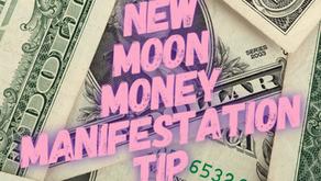 New Moon Money Manifestation Tip 11/26/19