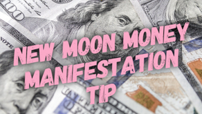 New Moon Money Manifestation Tip 1/24/20