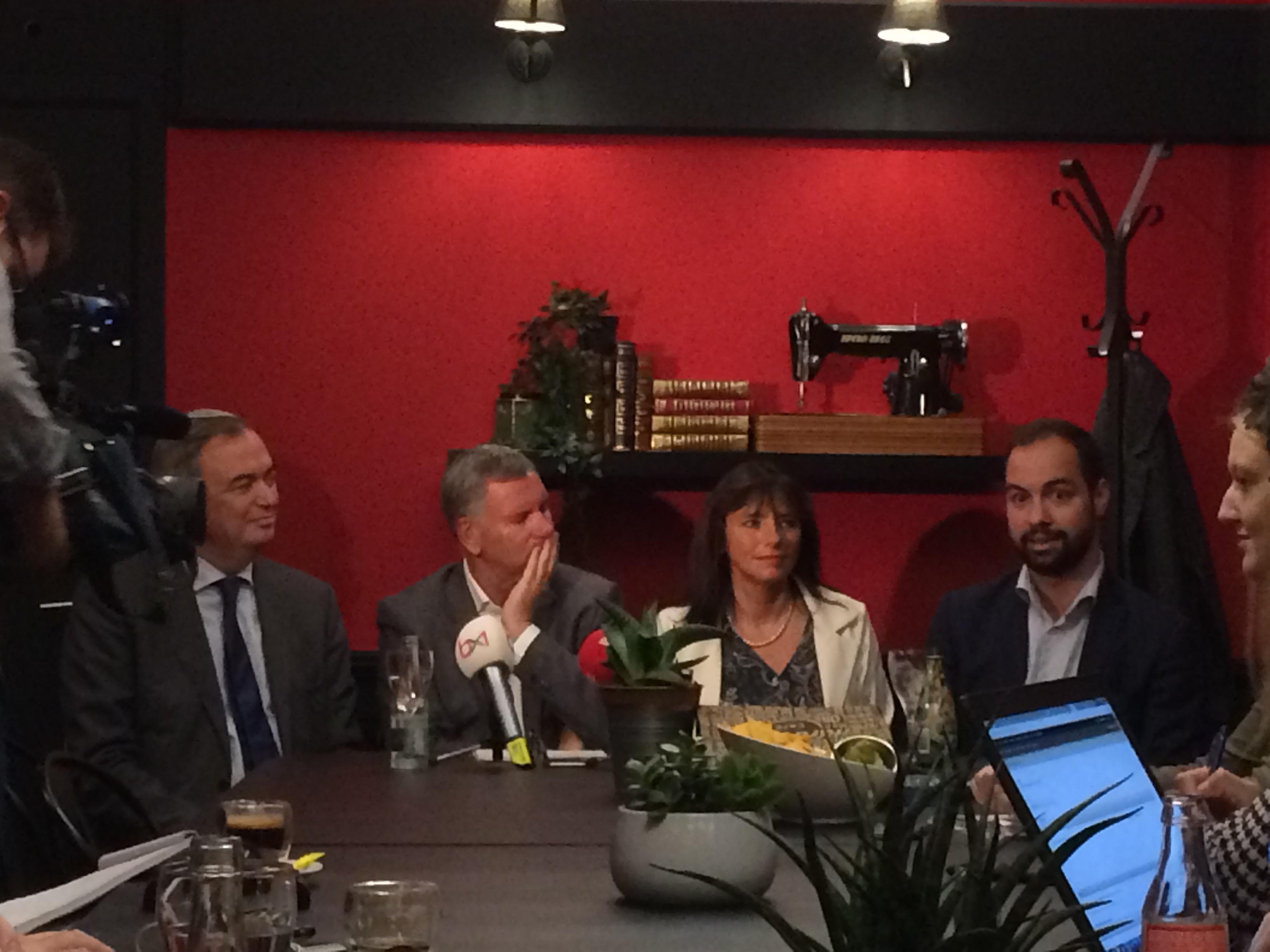 Conférence de presse Bxl-Ixelles