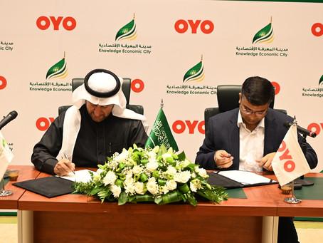 توقيع مذكرة تفاهم مع شركة أويو أورافال التكنولوجيا