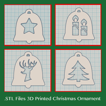 Celebrate this season with 3D printed DELUKART's Christmas ornament!