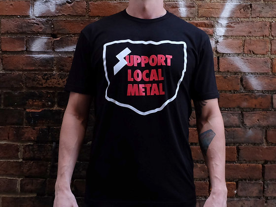 Support Local Metal Tee