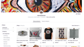 Check it out! Maria's New Project RedBubble Store